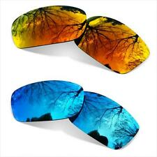 74d6b5d93a5 Combo SURE Polarized Replacement Lenses Oakley Tightrope Ice Blue + Fire  Iridium