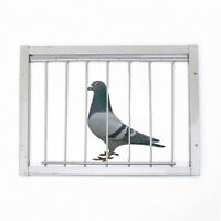 30x26cm Bob Wires Bars on Frame Entrance Tumbler for Racing Pigeon Birds Supply