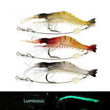 "3.7"" Soft Bait Lures Full Swimming Layer Luminous Slow Sinking Freshwater Fish"