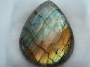 A Labradorite cabochon for jewellery making Pear shape 31x22x6.6mm