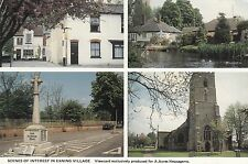 Postcard - Exning - Scenes of interest in Exning Village - 4 views