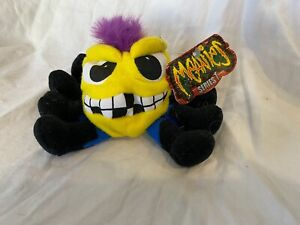 1997 MEANIES SERIES 1 OTIS THE OCTAPUNK PLUSH BEANIE NWT 5""
