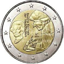 """* 2 EURO COMMÉMORATIVE - UNC -  PAYS-BAS 2011 """"ERASMUS"""""""