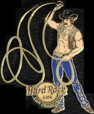 Hard Rock Cafe SAN FRANCISCO 2006 Grand National Rodeo PIN Cowboy w/Lasso #32164