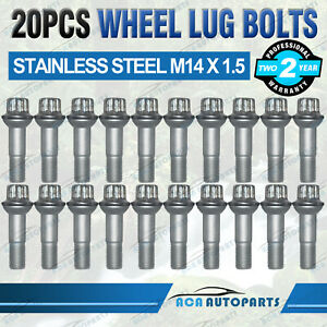 20x Wheel Lug Bolts for Mercedes Benz GLE W166 Coupe C292 250 350 400 500 AMG 63