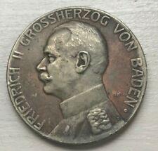 Germany Baden World War I WWI Silver Merit Medal