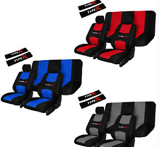 RoadRiders'  Grey Road Riders Type R Flexible Universal Seat Cover