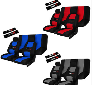 RoadRiders'  Red Road Riders Type R Flexible Universal Seat Cover