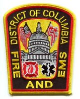 District of Columbia Fire and EMS Department DCFD Patch Washington DC v2