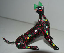Francisco Melchar Oax Mex Cat Figure Kitten Kitty OAXACAN Folk Art Mexican
