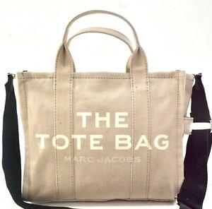 MARC JACOBS The Small Traveler Beige Handbag $175.00 #105SW