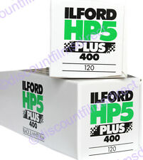 2 x ILFORD HP5 400 120 ROLL BLACK & WHITE FILM for 120 CAMERAS BY 1st CLASS POST