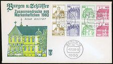 Berlin Heftchenblätter Mi.Nr. 20 FDC Ersttagsbrief Mi.Wert -€ (5787)