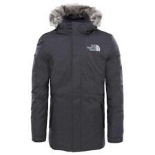 The North Face  Men's ZANECK Hooded Jacket Parka Coat Black Blue Charcoal