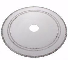 """7.1"""" Notched Rim 0.9mm Diamond Lapidary Rock Slab Saw Blade Arbor Hole 25mm With"""