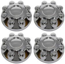 NEW 8 LUG WHEEL CHROME CENTER CAPS SET FOR 03-13 DODGE RAM 1500 2500 3500 TRUCK