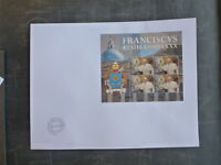 2016 VATICAN CITY 80th ANNIV OF THE BIRTH OF POPE FRANCIS MINI SHEET FDC
