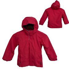 Columbia omni tech small girls jacket 3 in 1 hoodie pink zip size XS (K-2)