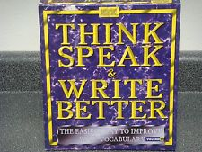 WordSmart Think Speak & Write Better 3.3 Vol. C