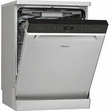 Whirlpool WFO3P33DLXUK 60cm S/S Freestanding 14 Place Dishwasher - 2 Year Gntee