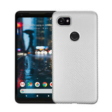 Carbon Fiber TPU Case for Google Pixel 2 XL GM 6 5 Thin Soft Silicone Pure Cover