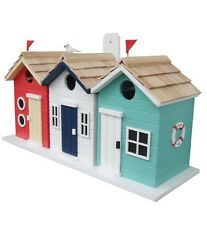 BEACH HUT BIRD HOUSE BEST OF BRITISH BIRDHOUSE