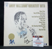 Andy Williams Autographed Record Greatest Hits W/Global Authentics COA-Musician