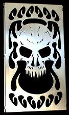 Skull Brushed Finish VZ 800 Marauder Radiator Grille Fits all Models 1997-2004
