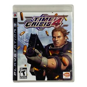 Time Crisis 4 PS3 (Sony Playstation 3, 2007) Complete CIB Tested Game Only