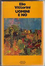 Vittorini, Uomini e no, Mondadori, classici, romanzo, 1975, terza edizione