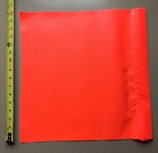 Safety Flag SF 16 16 Inch  Vinyl Flags Red/Orange Traffic Parking Control Direct