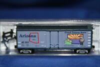 N Scale MTL Micro Trains 40' Standard Box Car Arizona State Car 21381