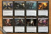 8x Rare Legendary Black Creatures Pioneer Legal Lot of 8 *NM Unplayed* Magic MTG