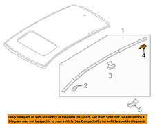 MAZDA OEM 16-17 CX-9-Roof Molding Protector Right TK48509H2