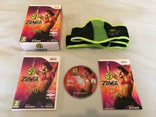 NINTENDO WII GAME - FITNESS ZUMBA + BELT IN GREAT CONDITION & COMPLETE