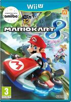 NINTENDO WII U MARIO KART 8 - MINT - UK -  1st Class SUPER Fast & Free Delivery