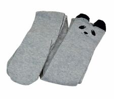 Girls Lovely 3d Cartoon Animal Thigh Stockings Over Knee High Long Socks Light Grey