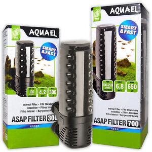 AQUAEL ASAP FILTERS INTERNAL 300 500 700 SIMPLE EFFICIENT AQUARIUM FISH TANK