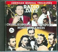 American Musical Treasures Radio Days Ink Spots Honeydreamers Charlie Spivak CD!