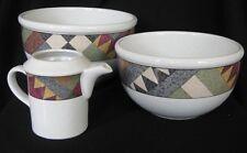 Studio Nova PALM DESERT 2 Mixing Bowls & Creamer Y2216
