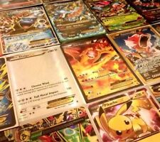 POKEMON TCG 5 CARD LOT EVERY CARD IS EITHER GX, EX, MEGA OR BREAK 100% AUTHENTIC
