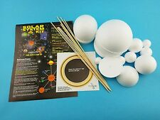 Styrofoam Smoothfoam Solar System Kit (No Paint Included)