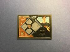 2016 TOPPS MUSEUM BUSTER POSEY JERSEY CARD - #37/99 - RARE BEAUTY! GIANTS