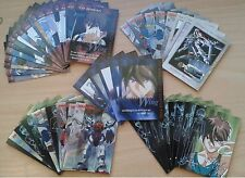Lot 51 carte Mobile suit Gundam Wing meccha collection 1 Bandai set card booster