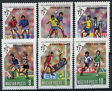 Hungary 1990 SG#3978-83 World Cup Football MNH Set #D4266