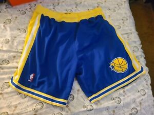 Mitchell Ness M&N Golden State Warriors authentic shorts 2xl xxl 90s throwback
