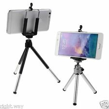 Mini Tripod Mobile Phone Holder Clip Desktop Selfie Camera Stand iPhone Samsung