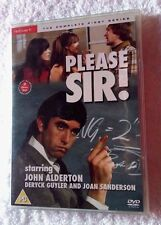 PLEASE SIR!  STARRING - JOHN ALDERTON THE COMPLETE FIRST SEASON (DVD) REGION-2