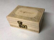 Vintage Small Jewelry Box