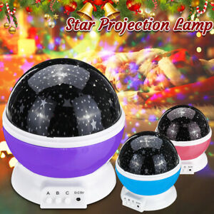 LED Star Projector ight Light Sleeping Lamp Calming Music Xmas Gift w/  !